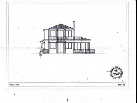 Mondello approved project the villa E. 250. 000